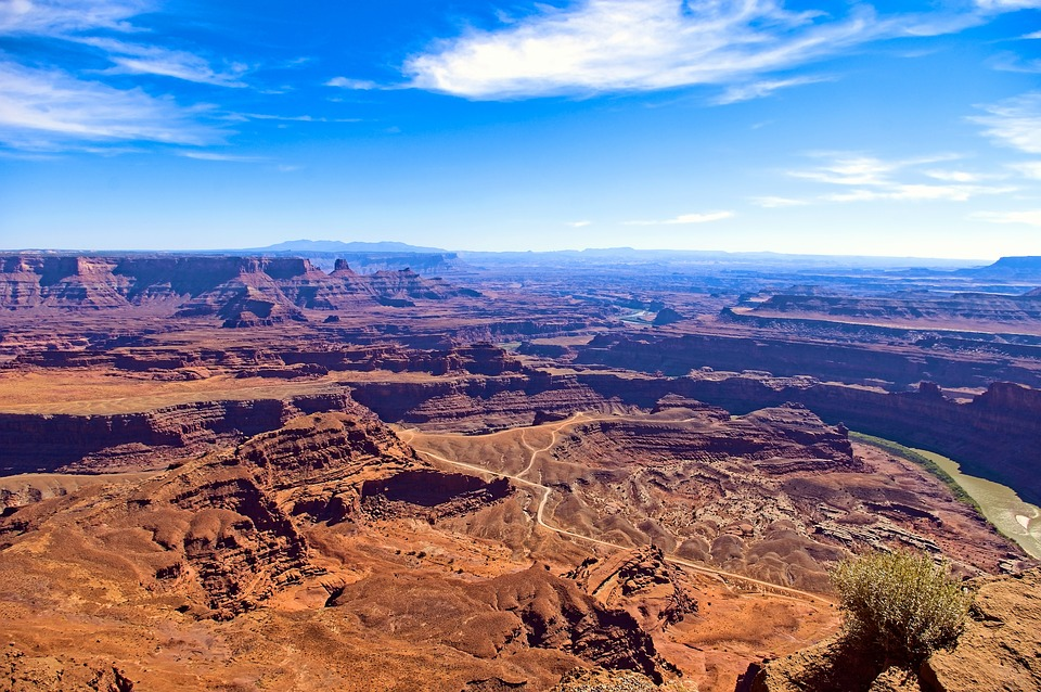 Dead Horse Point Park View, Canyon, Desert, Utah