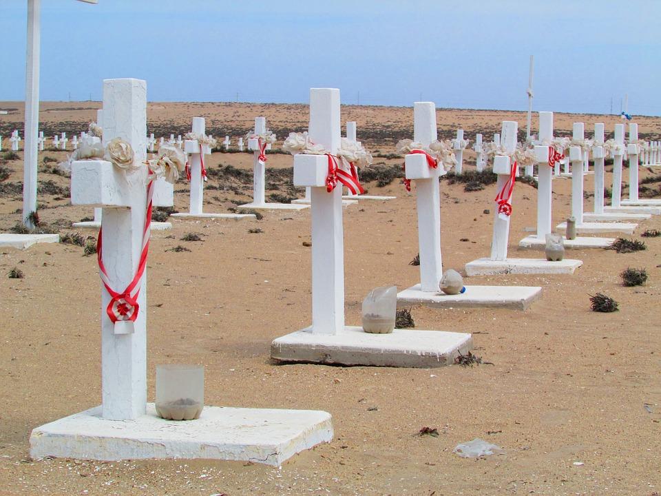 Cemetery, Cruz, Desert