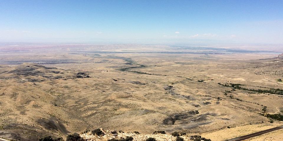 Desolate, Bald, Grounds, America, View, Desert, Nature