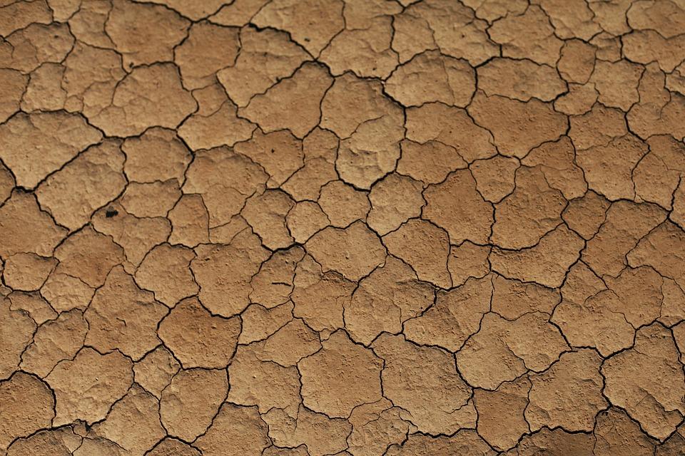 Sand, Desert, Stone, Pebble, Wind, Traces, Lines, Heiss