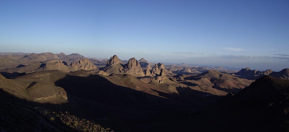 Algeria, Desert, Sahara, Hoggar, Assekrem
