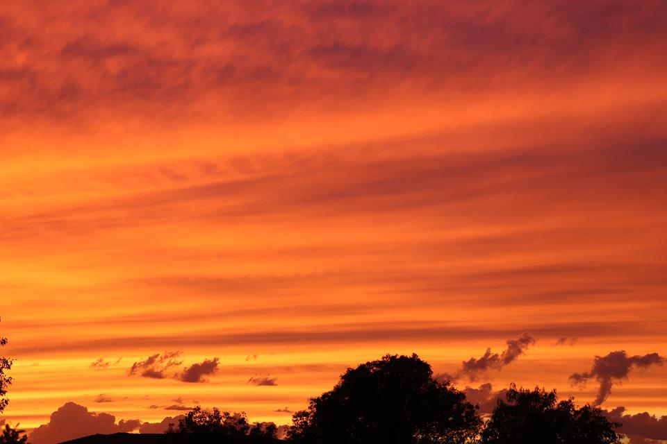 Arizona, Sunset, Landscape, Nature, Desert, Scenic, Sky