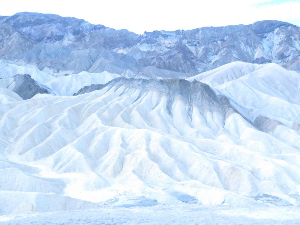 Death Valley, Landscape, Desert