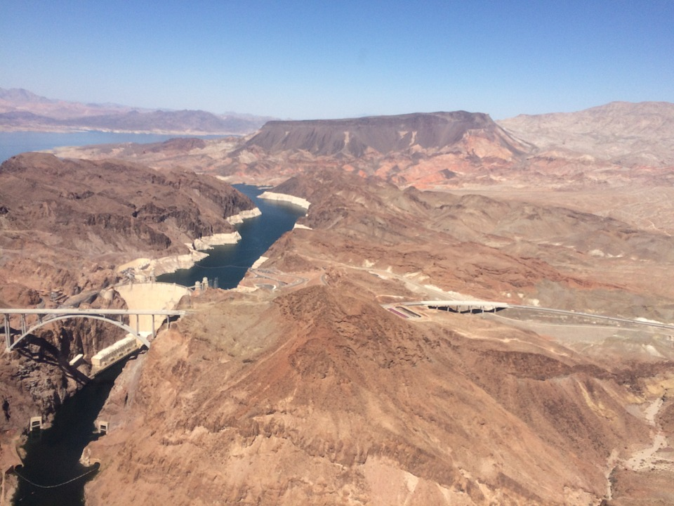 Hoover Dam, Dam, Nevada, Mountains, Landscape, Desert