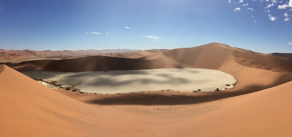 Desert, Namibia, Africa, Landscape, Beautiful
