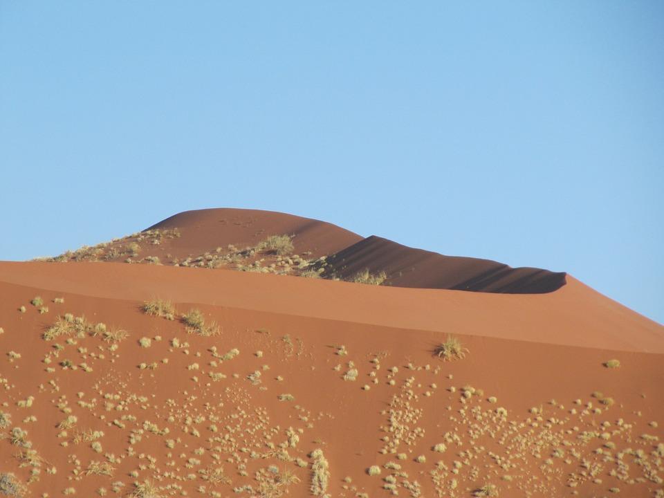 Dune, Desert, Sand, Sky, Landscape, Namib