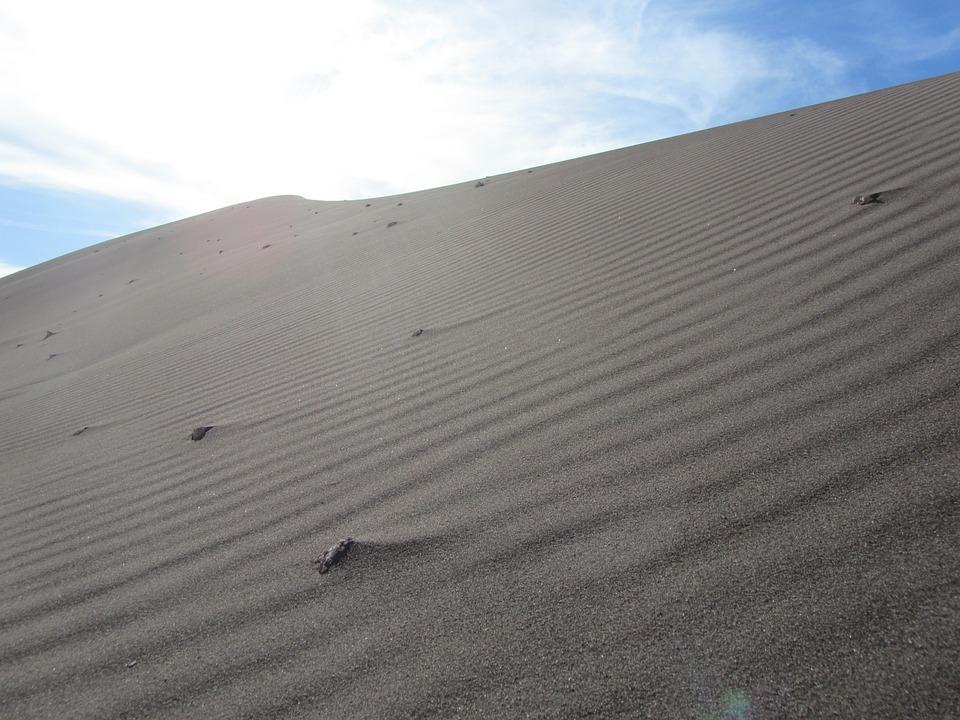 Atacama, Dune, Desert, Clouds, Sky, Sun, Sand, Dry, Hot