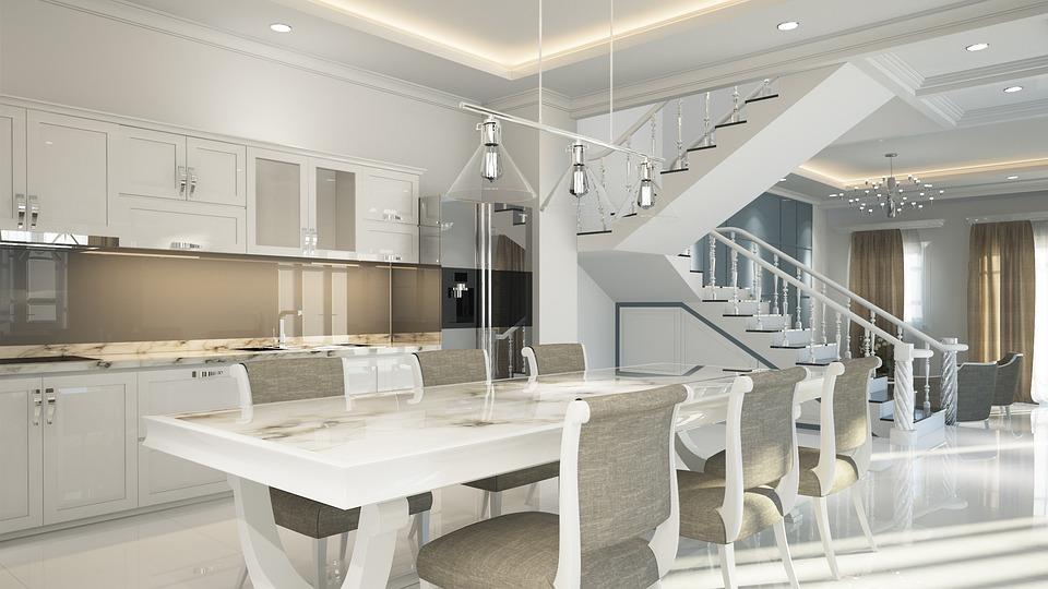 Free photo Design 3d Interior White Luxury Neoclassical - Max Pixel