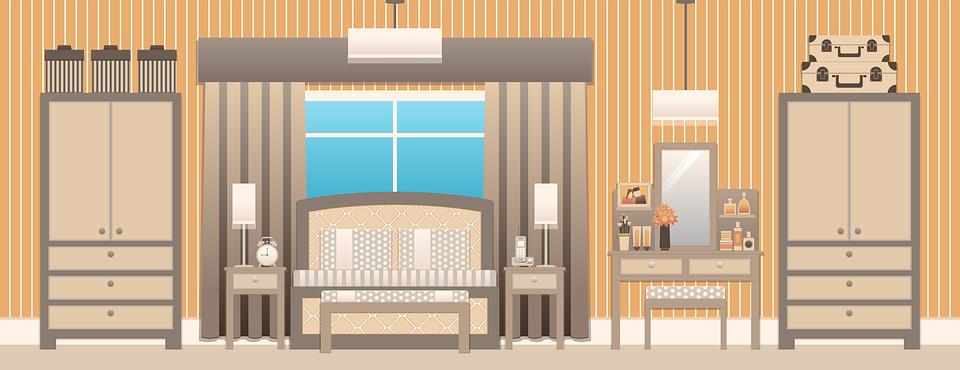 Bedroom, Bedroom Interior, Design, Bed, Brown Design
