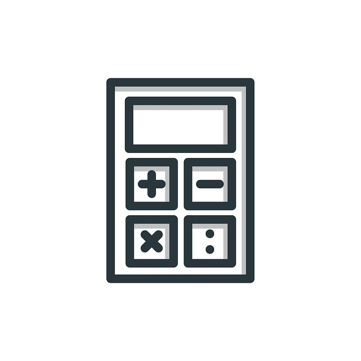 Calculator, Icon, Business, Finance, Symbol, Design