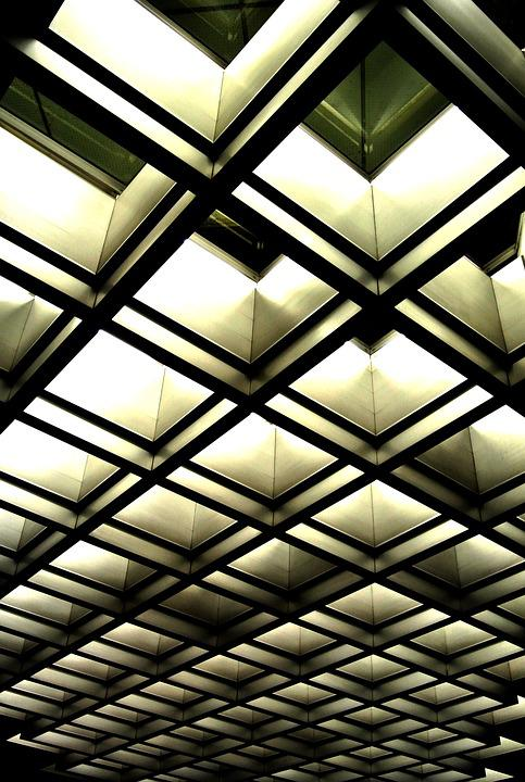 Architecture, Ceiling, Abstract, Interior, Design