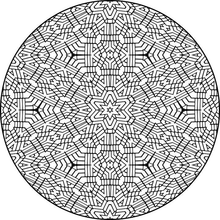 Mandala, Pattern, Colour, Design, Indian, Circle