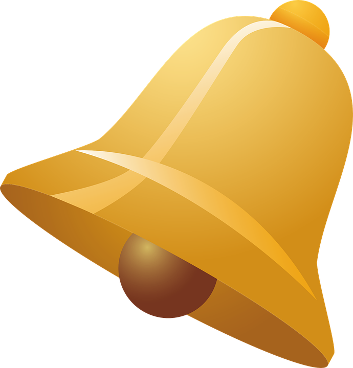 Bell, Notification, Icon, Cutout, Bell Icon Svg, Design