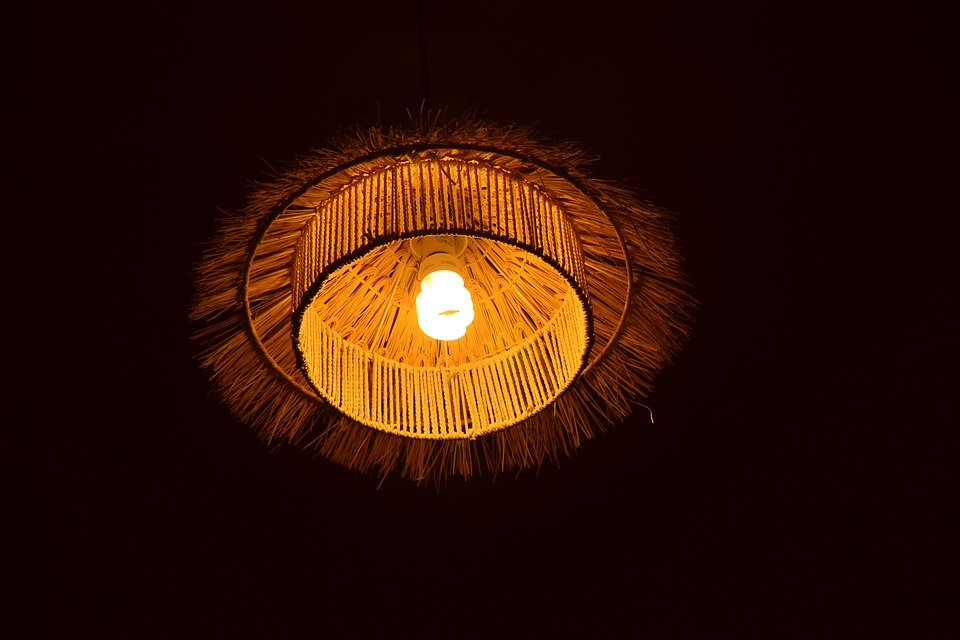 Lamp, Energy Saving, Electricity, Light, Dark, Design