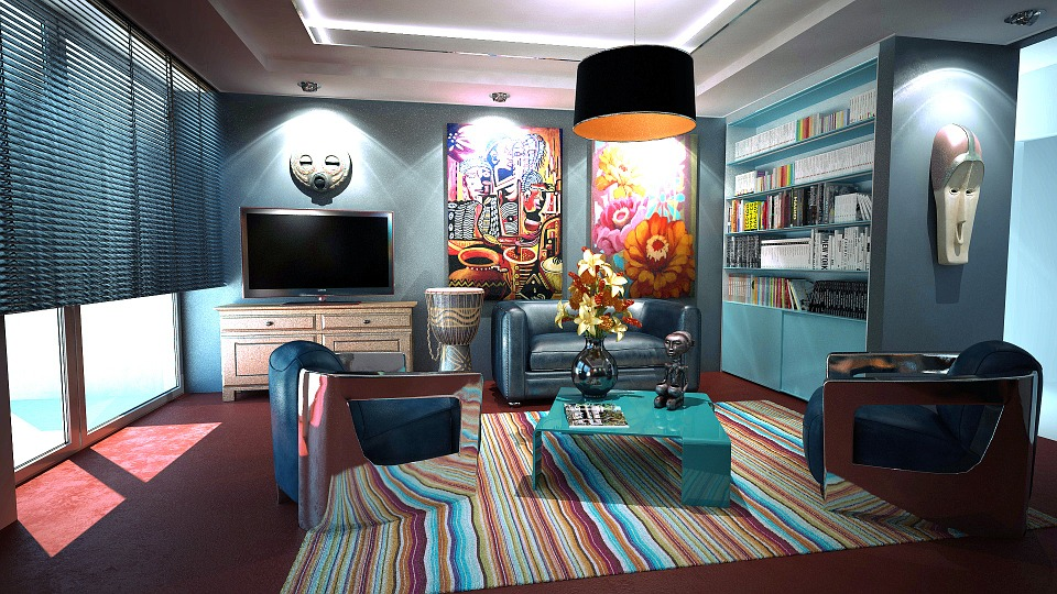 Apartment, Room, Interior Design, Decoration, Design