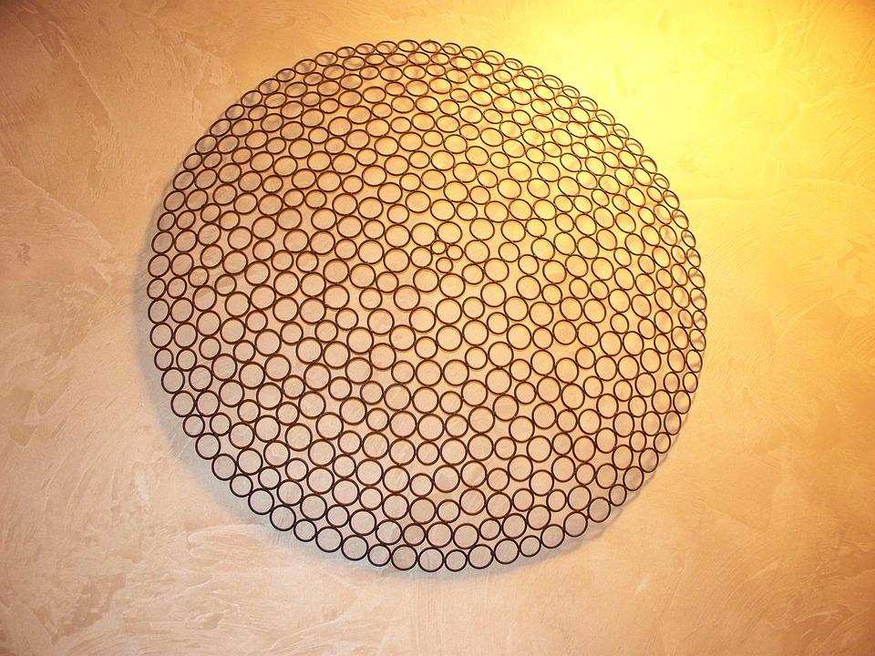 Wall, Art, Texture, Decorative, Element, Design, Modern