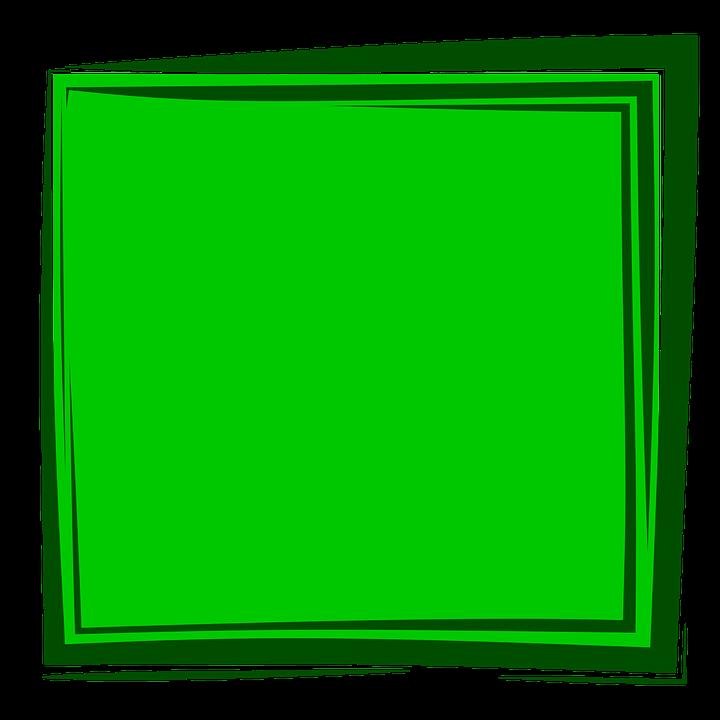 Green Frame, Frame, Background, Album, Border, Design