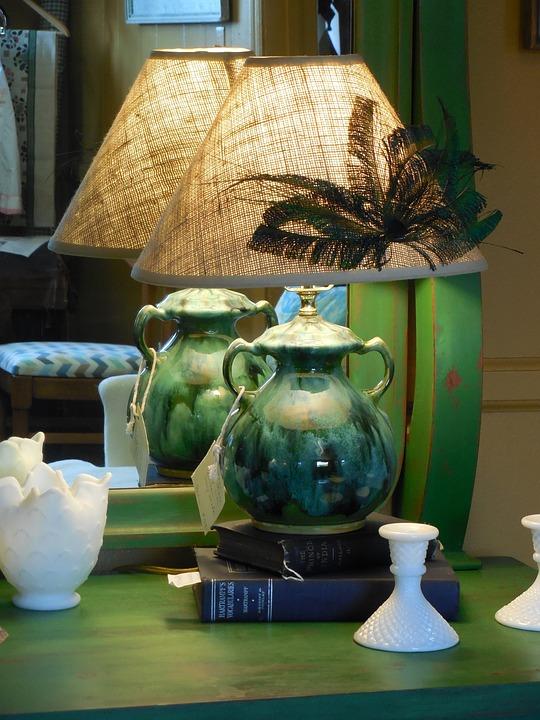 Mirror, Lamp, Design, Interior, Home, Room, House