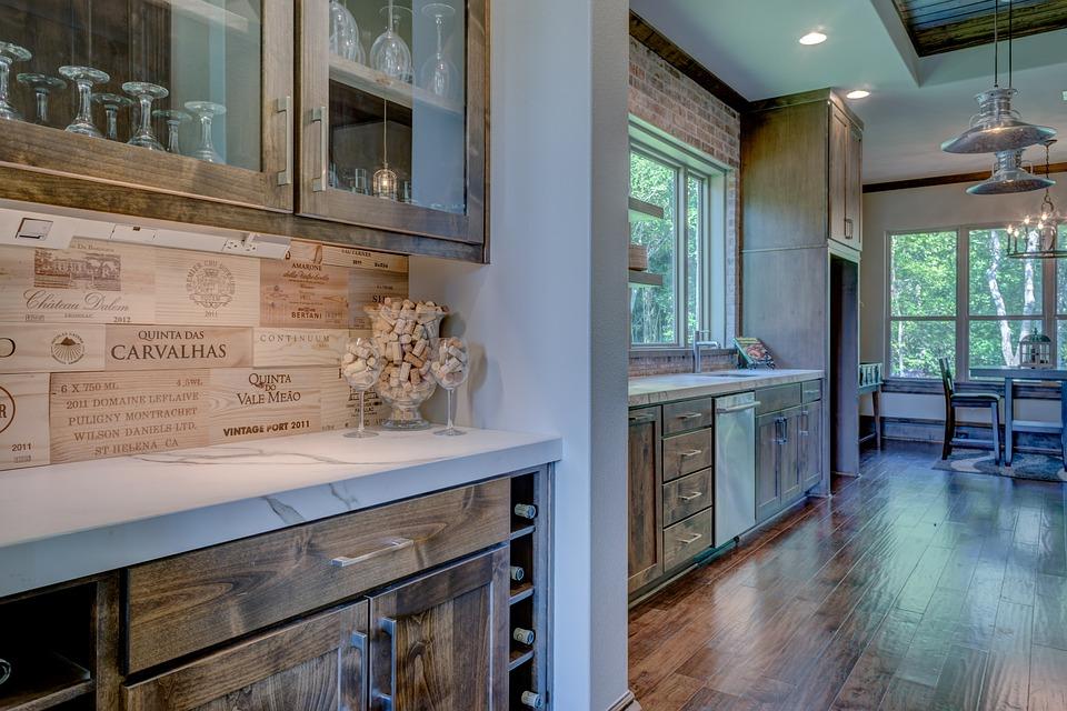 Luxury Kitchen Interior Design. Kitchen  Interior Luxury Home Modern Design Free photo Max Pixel