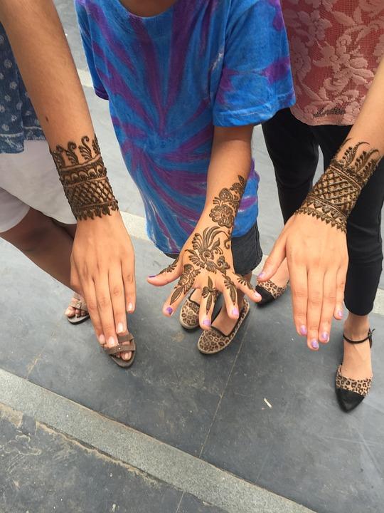 Henna, Mehendi, Design, Indian, Decoration, Ethnic