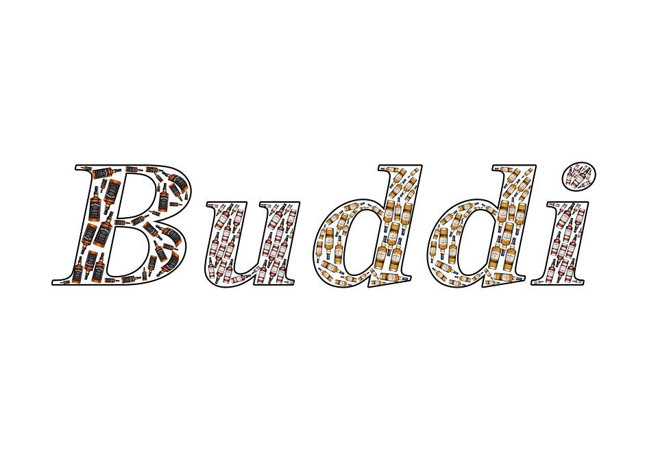 Bottle, Name, Buddi, Text, Free, Write, Design, Graphic