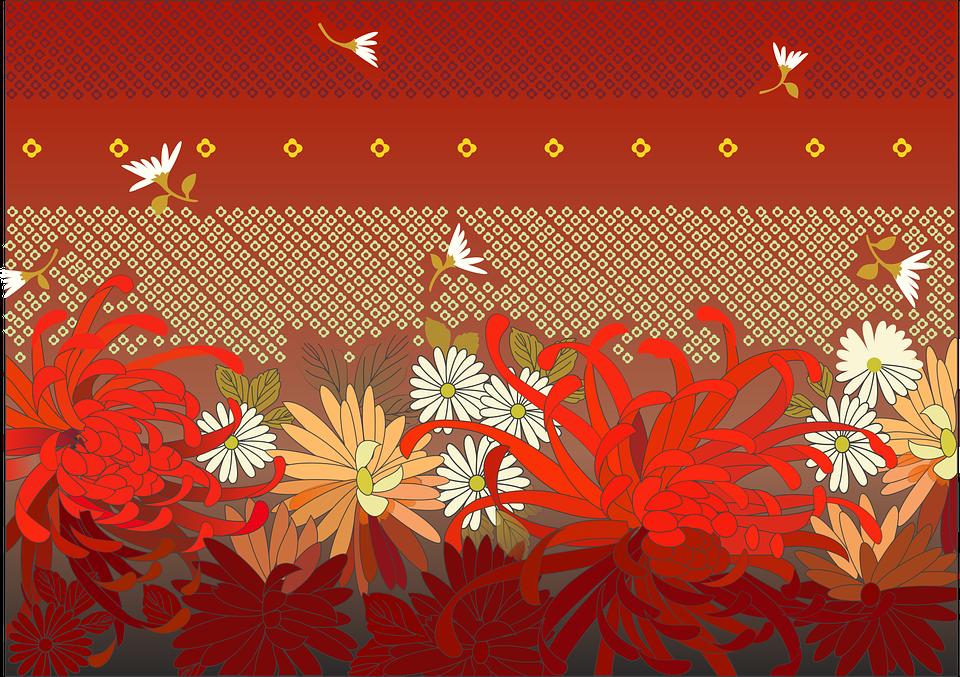 Abstract, Background, Flower, Design, Pattern