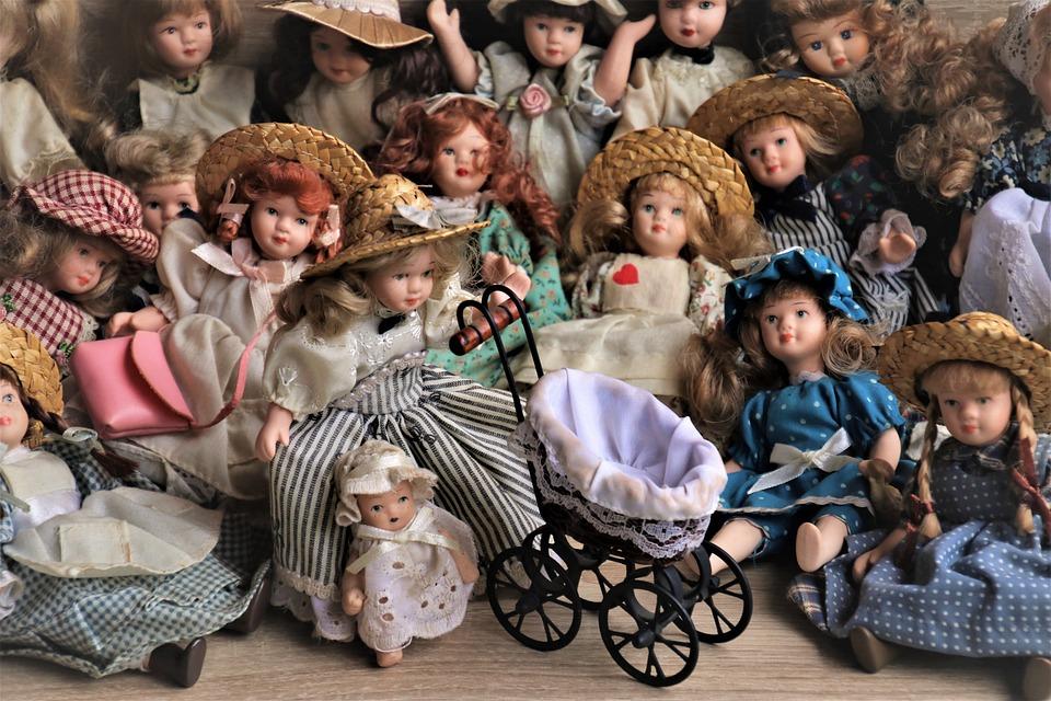 Stylish, Dolls, Nostalgia, Retro, Collection, Design