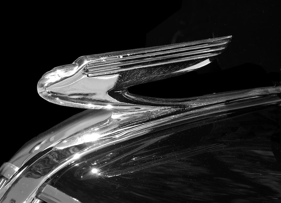 Vintage, Hood Ornament, Antique, Design, Style