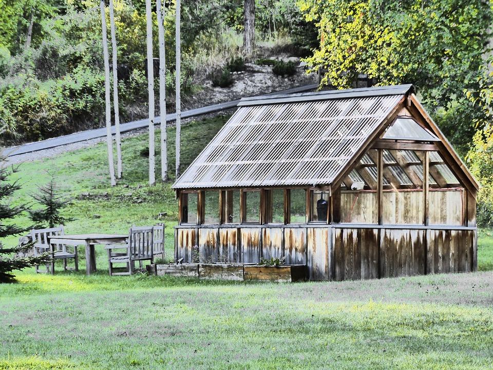 Green House, Summerhouse, Garden, Summer, Design