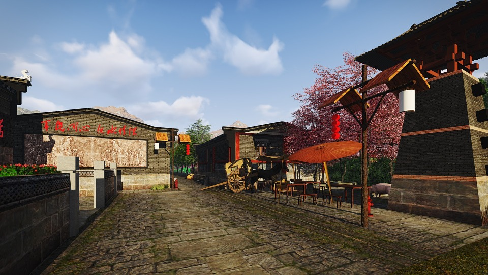 The Ancient Town, Building Renovation, Design
