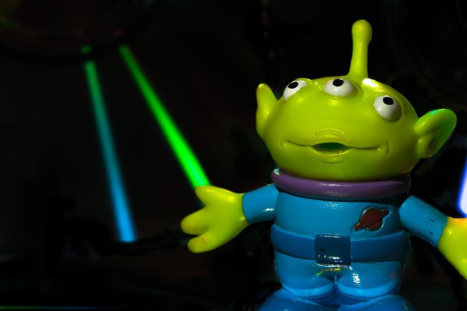 Toy Story Alien, Toy, Alien, Cartoon, Character, Design