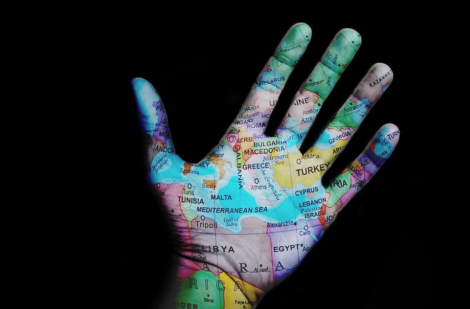 World, Travel, Map, Design, Hand