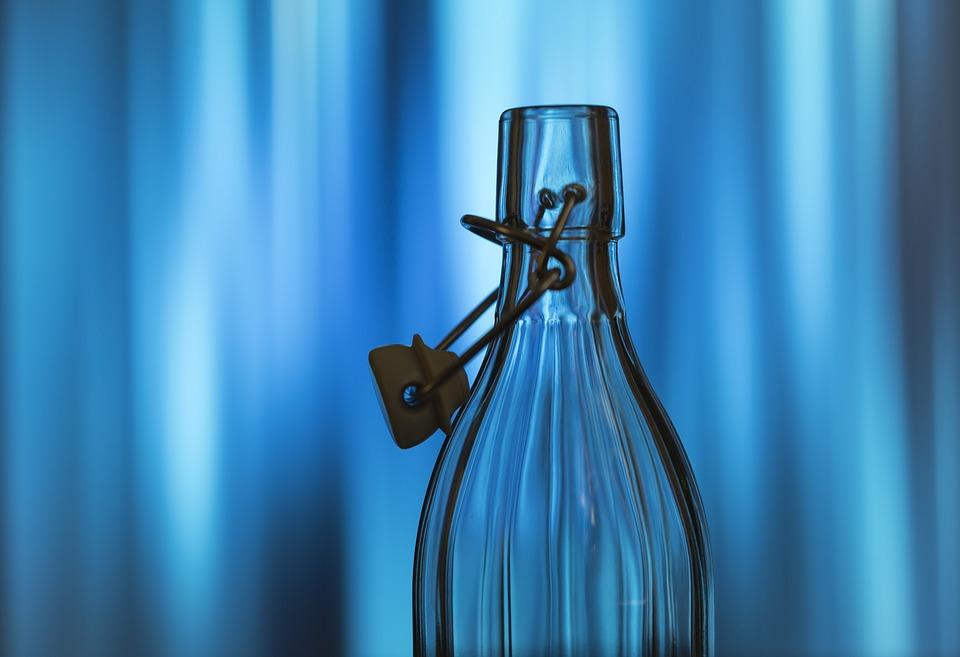 Bottle, Water Bottle, Creative, Background, Designed