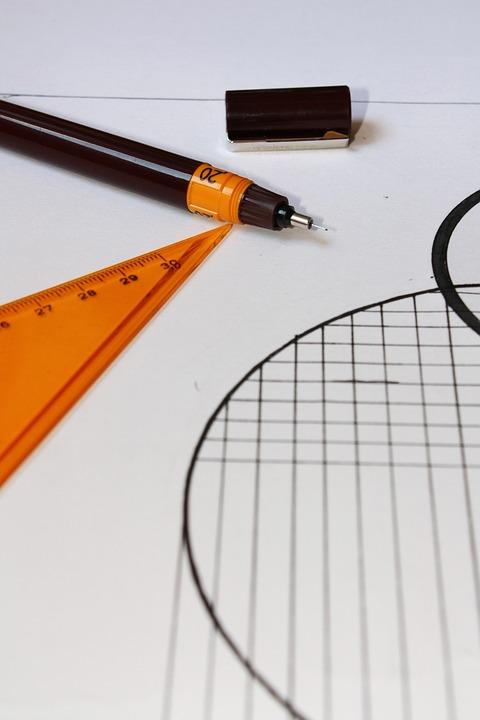 Geometry, Pen, Designer, Work