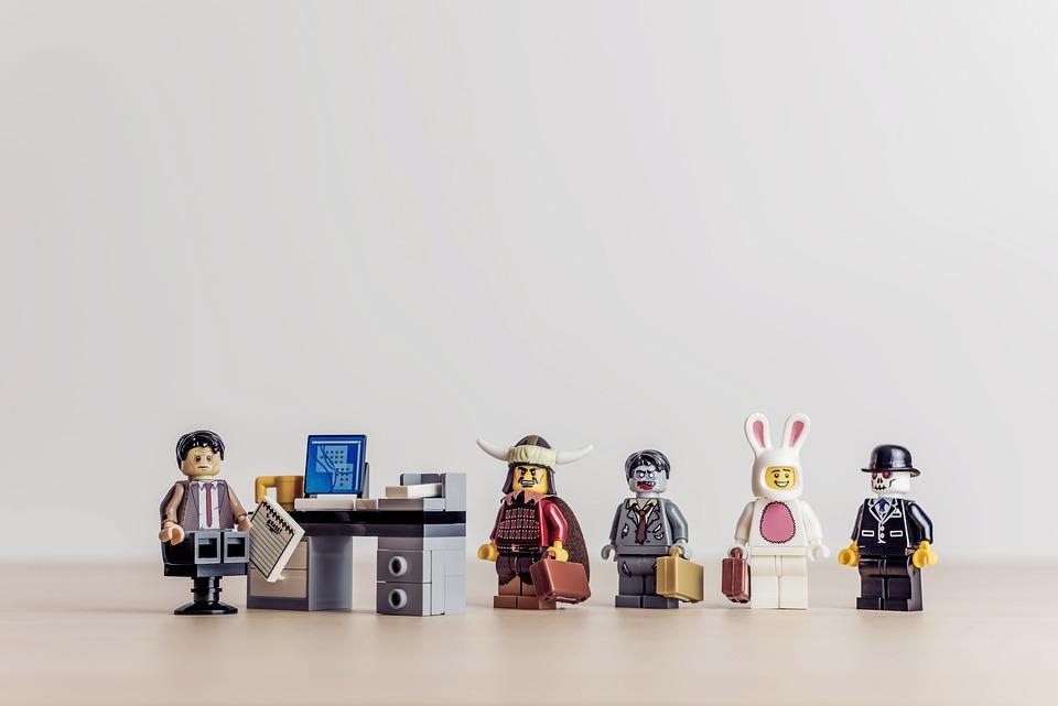 Bunny, Business, Businessmen, Career, Client, Desk