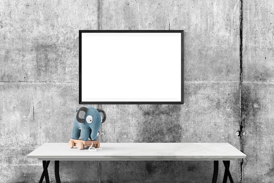 free photo desk mockup presentation template poster wall - max pixel, Presentation templates