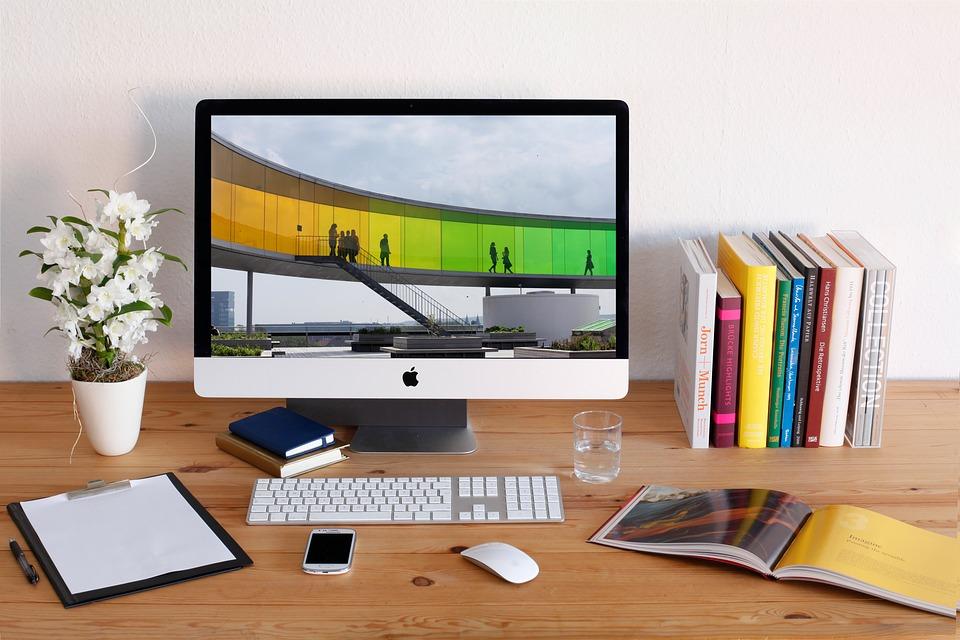 Workplace, Imac, Desktop, Creative, Screen, Computer
