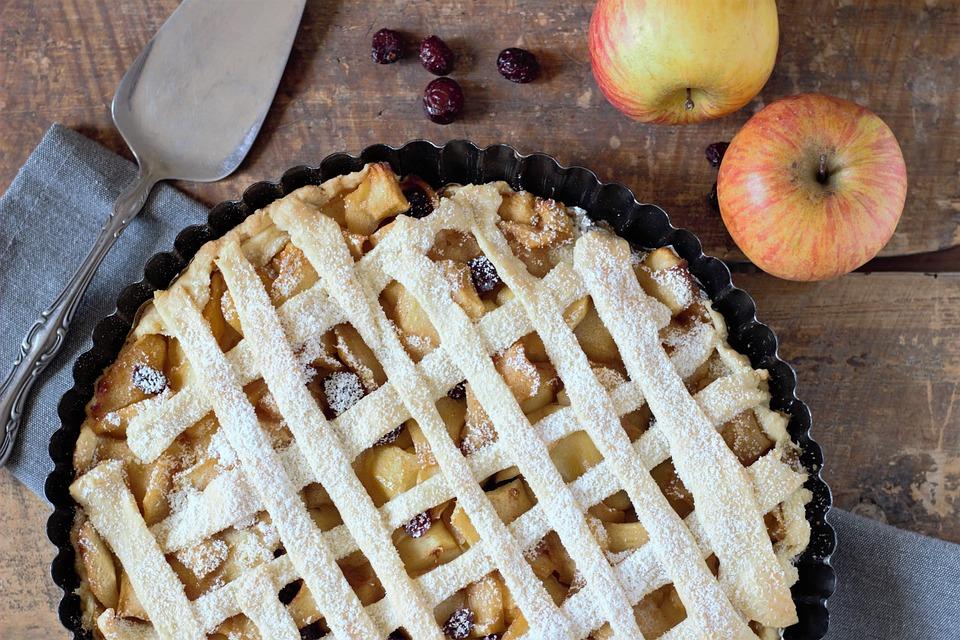 Apple Pie, Dough, Apple, Cake, Dessert, Sweet, Bake