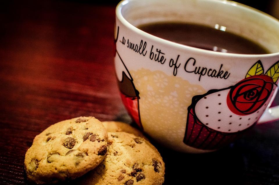 Cookies, Coffee, Dessert, Espresso, Beverage, Snack