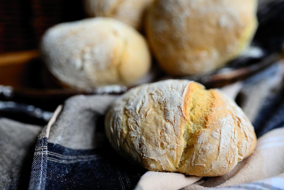 Bread, Roll, Bun, Sweet, Dessert, Fresh, Baked, Table