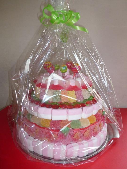 Candy, Cake, Sugar, Dessert, Gift