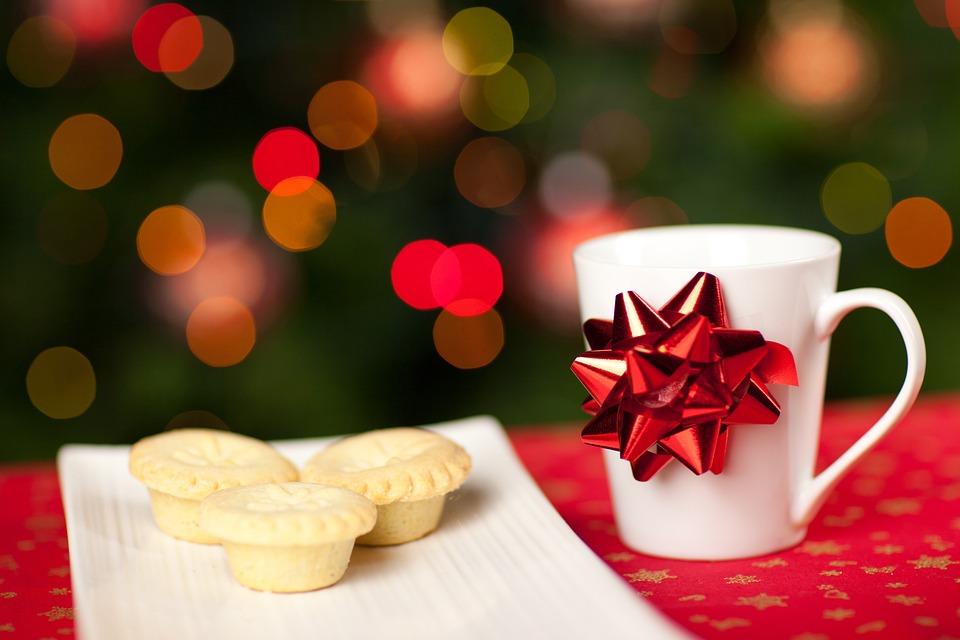 Baked, Beverage, Christmas, Santa, Claus, Cup, Dessert