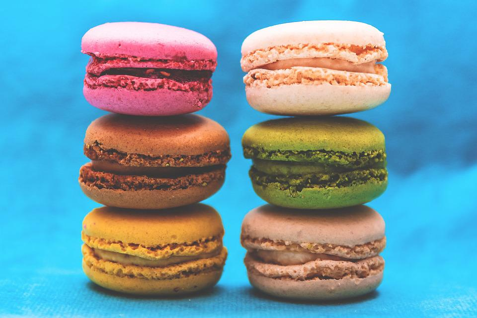 Colorful, Macaroons, Pastry, Colourful, Dessert, Food