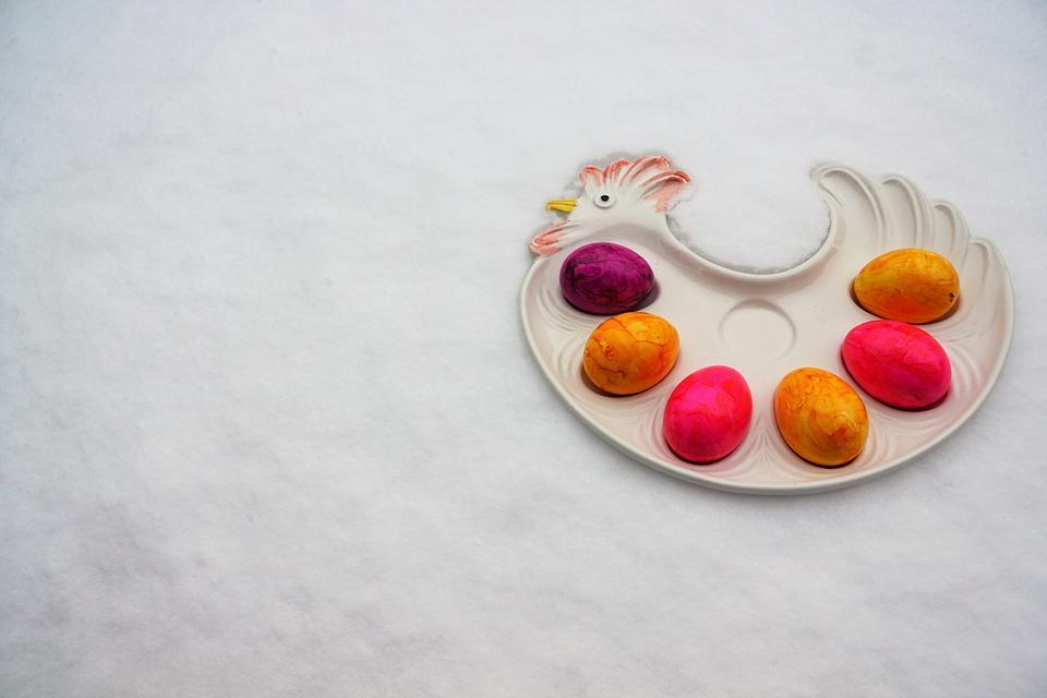 Easter, Background, Food, Dessert, Celebration, Color