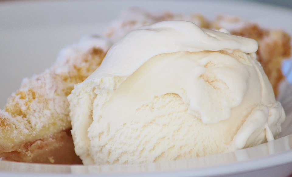 Ice Cream, Ice, Dessert, Delicious, Vanilla Ice Cream