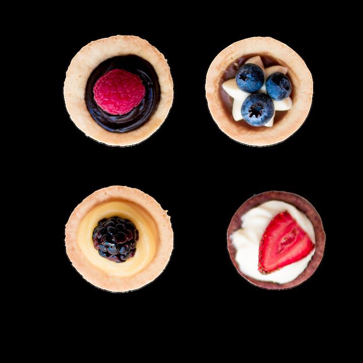 Cupcakes, Mini Cheesecake, Strawberry, Dessert, Sweet