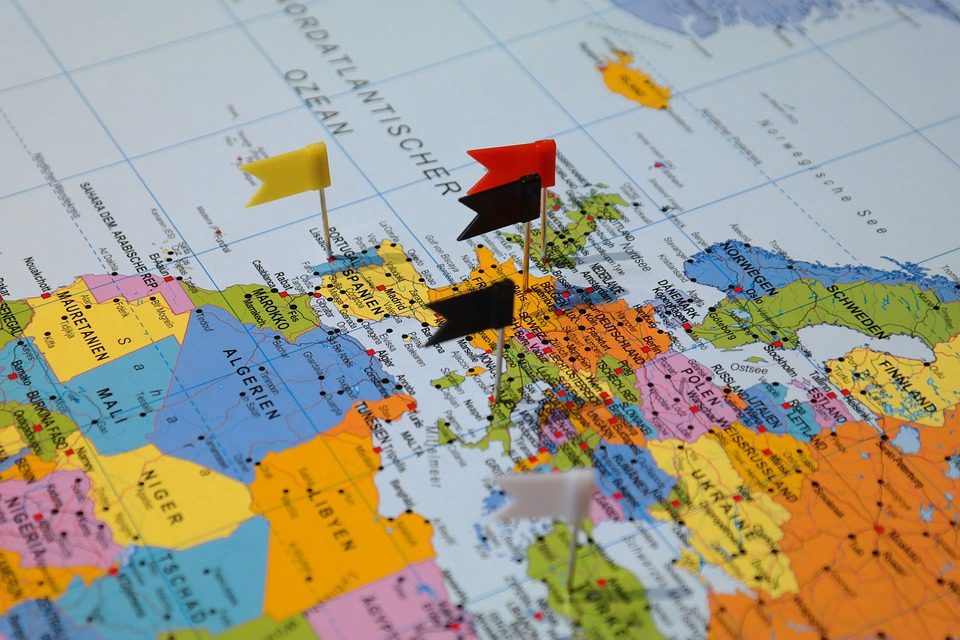 Destinations, Map, Map Of The World, Country, Travel