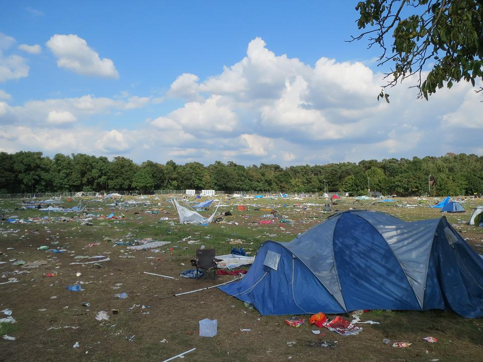 Rock N Heim, Camping, Festival, Germany, Destroyed