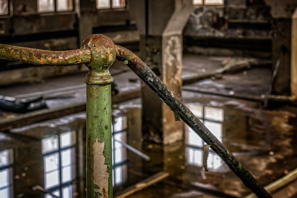 Railing, Iron, Handrail, Detention, Close, Detail