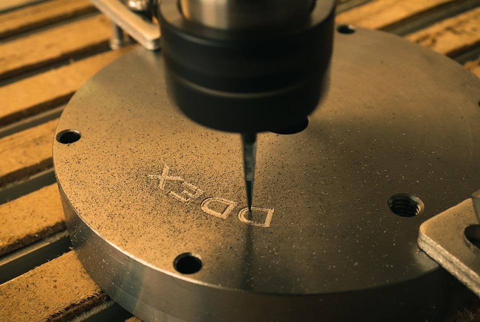 Engraving On Metal, Milling, Details, Cnc, Mill